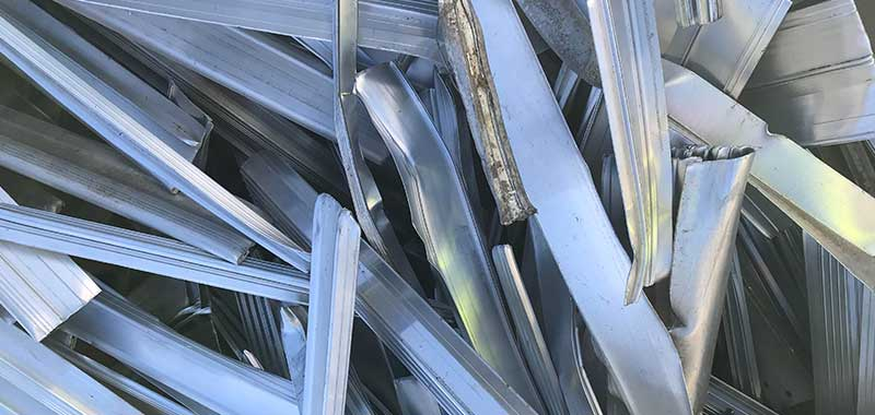 New Clean Production Aluminium Extrusion Scrap